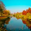 A Kurca is megszépül ősszel